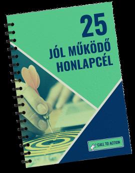 25 honlapcél füzet borító