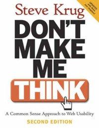Steve Krug: Ne törd a fejem (Don't Make Me Think) borító