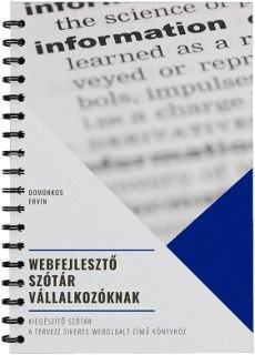 Webfejlesztő szótár vállalkozóknak borító