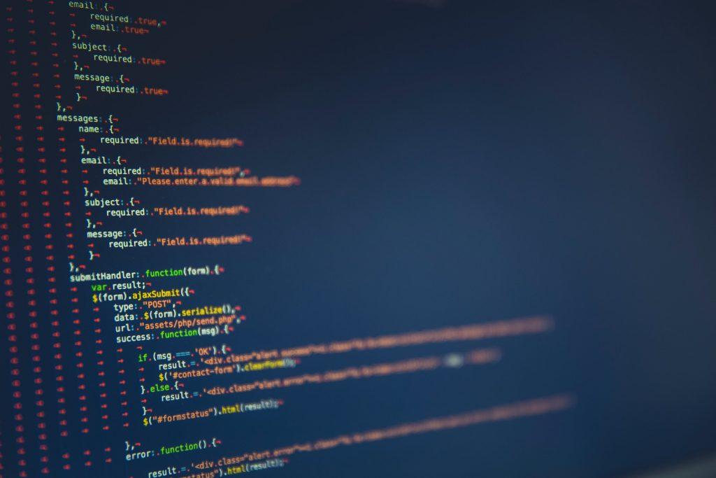 JavaScript kódrészlet