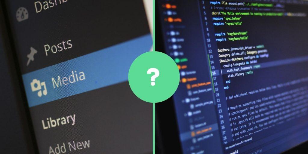 WordPress vs. egyedi fejlesztés